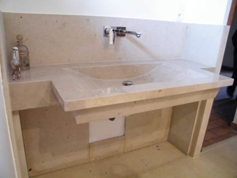 grande vasque pierre de taille design sur mesure