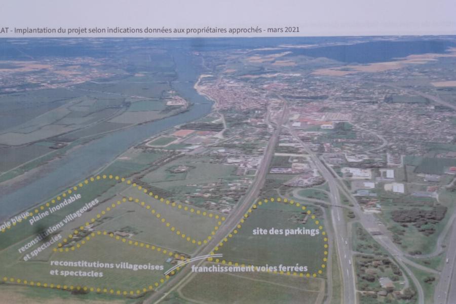 plan eclat parc historique tournus saone-et-loire 71